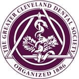 Greater Cleveland Dental Society logo.