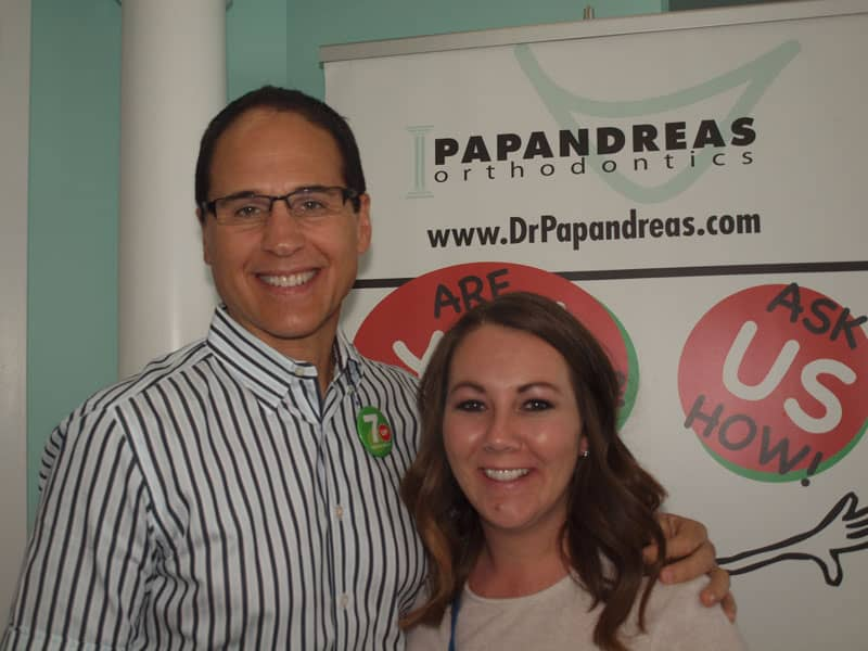 papandreas orthodontics patient review - angela