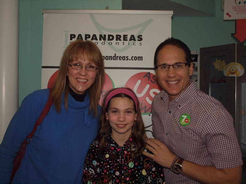 papandreas orthodontics patient