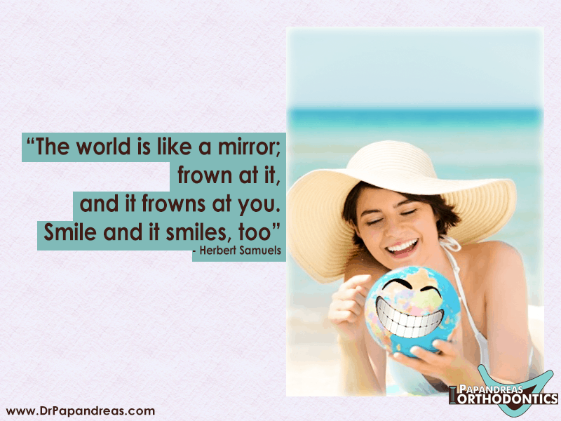 Smile Quote Herbet Samuels