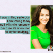 Smile Quote Santosh Kaur