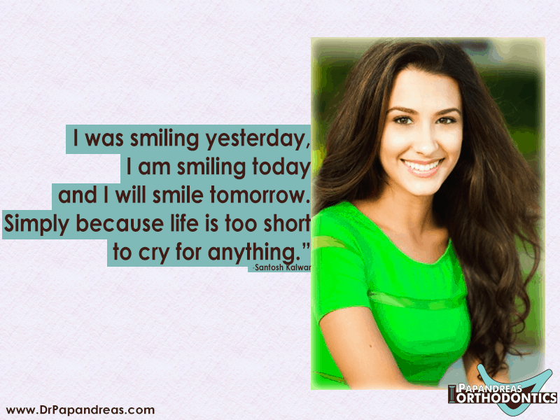 Smile Quote Santosh Kalwar
