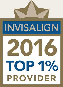 Invisalign Top1 percent provider 2016 logo - Invisalign Brunswick OH