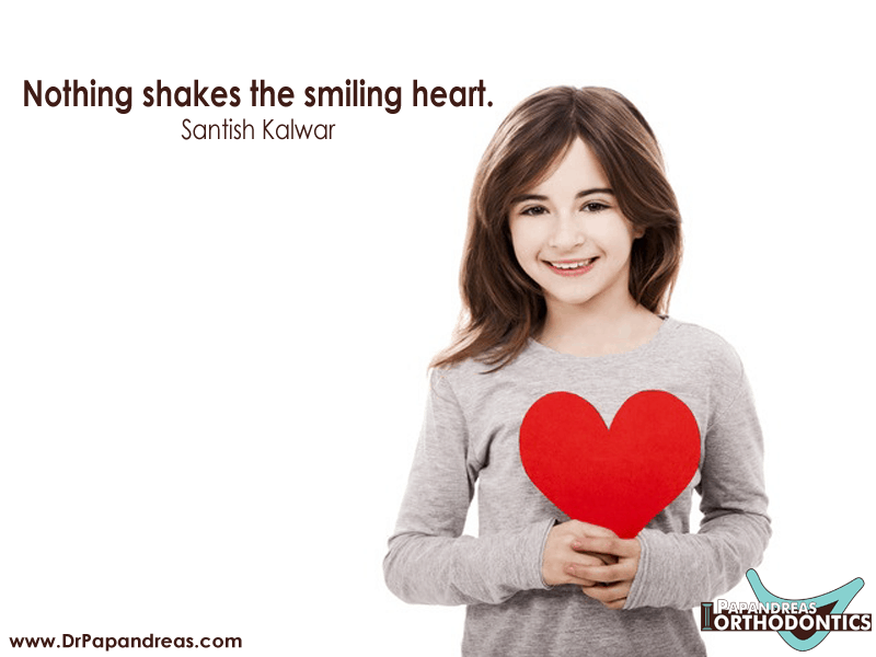 Nothing shakes the smiling heart - Santish Kalwar