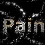 NEON PAIN SIGN