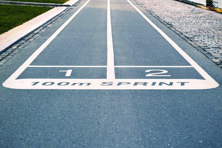 race track line