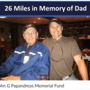 26 Miles in Memory of Dad