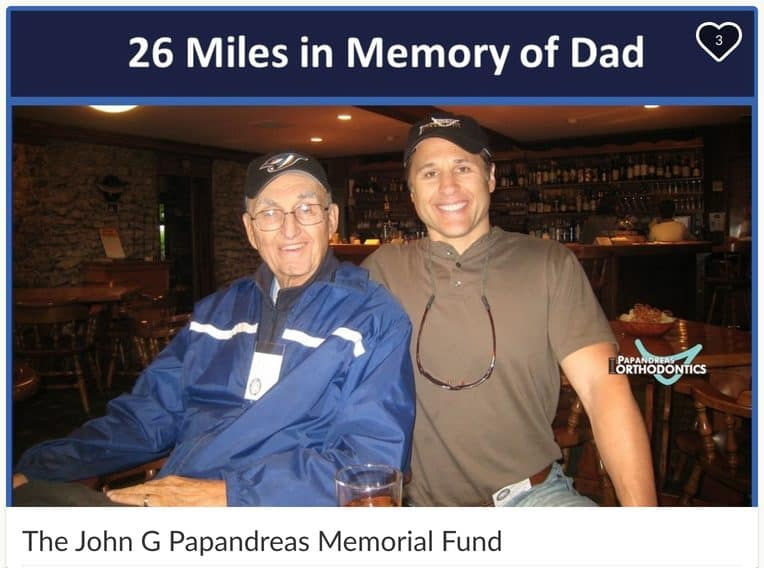 26 Miles in Memory of Dad
