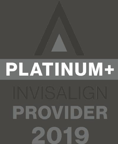 invisalign platinum+ provider logo